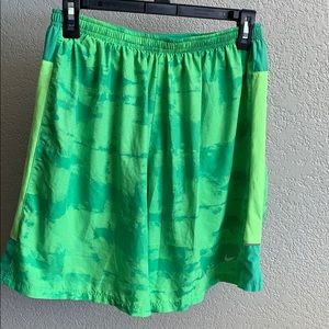 Nike Dry Fit running shorts size large
